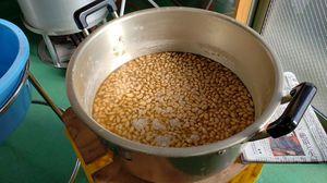 香り豊かなふっくらとした大豆♪