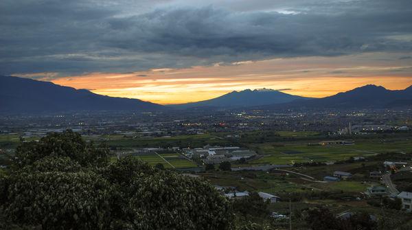 丘の上にある絶景スポット