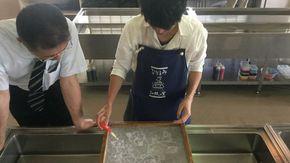 和紙の魅力を体験できます!!
