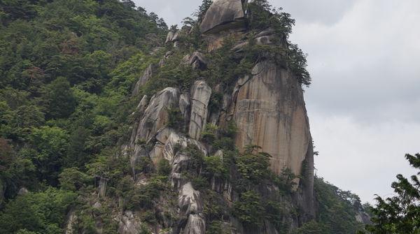 昇仙峡のシンボル 覚円峰