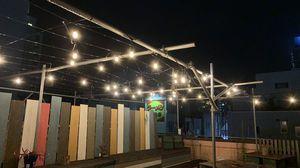 屋上には開けたオープンスペースもあります!