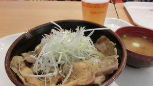 山梨県産豚肉を使った「富士桜豚丼」