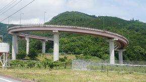 ループ橋(桃花橋)