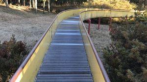 全長80メートルのロングローラー滑り台!