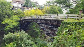 大月桃太郎伝説が残る日本三奇橋の一つ