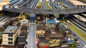 日本最大級 鉄道ジオラマがあるお店