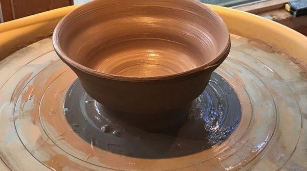 人生初の陶芸体験