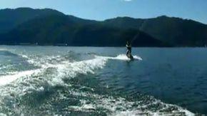 日本一高い山★富士山★を見ながら休日はアクティブに河口湖でジャンプ!!!!☆