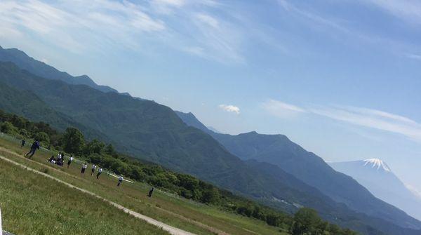 清里からの富士山は小さいけどキレイ~★*
